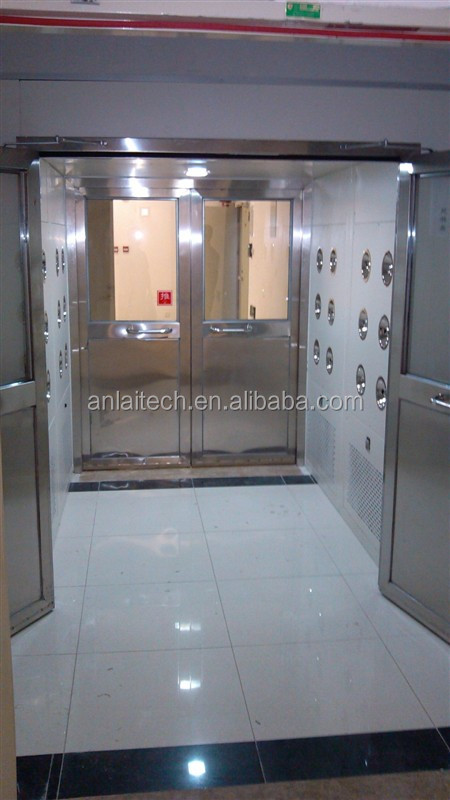 Industrial clean room wind shower/ air wind leaching room