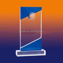 Grade Sports Event Crystal trophies and awards 2 Colors Customized Champions Keepsake Trophy