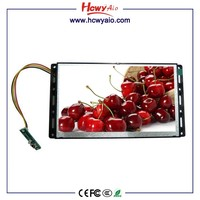 10 inch Indoor Shelf Edge Open Frame lcd Monitor usb Video Auto Player 12v Media Player for Advertising