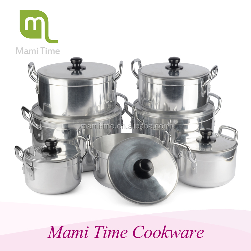 Large Capacity Commercial Kitchenware High Quality Polishing Heavy Duty cooking pot
