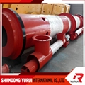 20000tons Rotary kiln technology natural gypsum powder machine