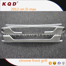 ABS Plastic chrome front grill 2015 dmax accessories for best quality front grill accessories