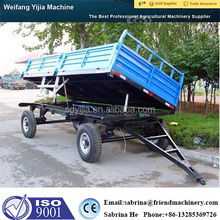 High quality Europe style 4 wheel utility trailer for tractor
