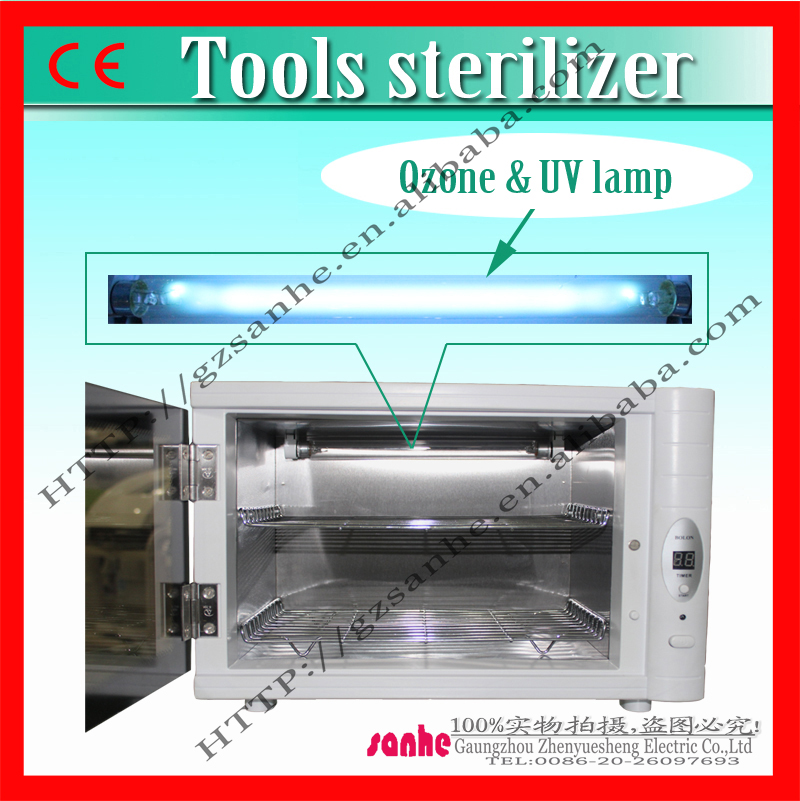 Digital display 8L ozone sterilizer/hair brush sterilizer for hair salon