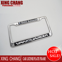 America &Canada custom stainless steel license plate frame