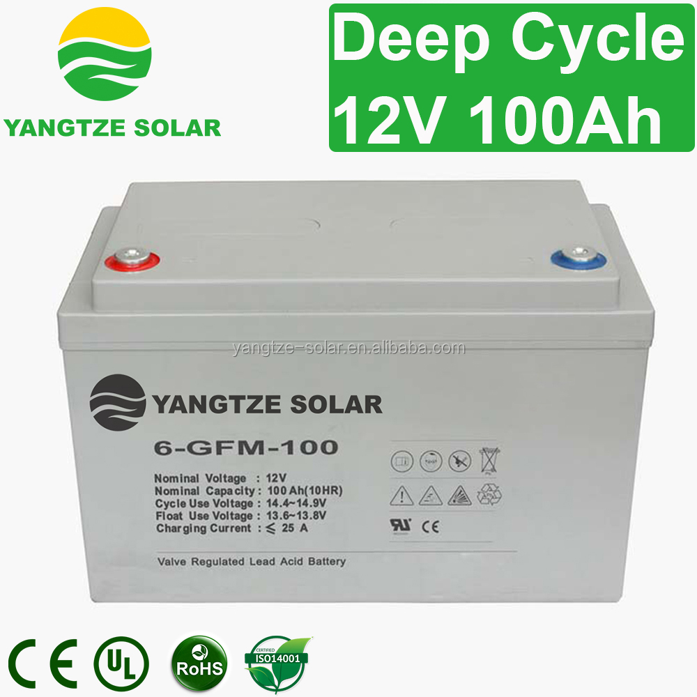 Yangtze higher quality 12v rechargeable battery