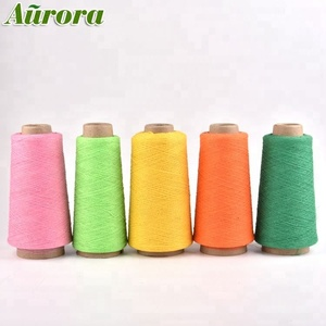 OEM & ODM NE 16/1 100% cotton recycled 100 cotton yarn dyed for yarn importer