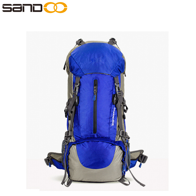 Quality nylon camping hiking sport bagpack, waterproof hiking backpack top quality