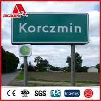 3mm sign board dibond acp panel