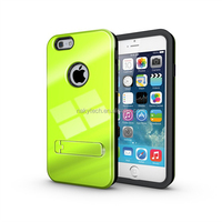 "2014 TPU+PC 3 in 1 strong box hybrid kickstand slim armor case for iPhone 6 4.7"" 5.5'"