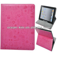 Little Witch PU Leather Case For iPad
