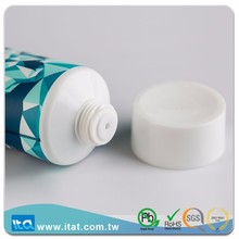 Taiwan manufacturer top selling neck cream round plastic tube
