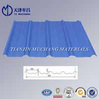 Zinc coating 60-180g/m2 cheap corrugated Color steel roof tile
