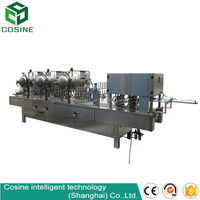 automatic fruit jam cup filling and sealing machine