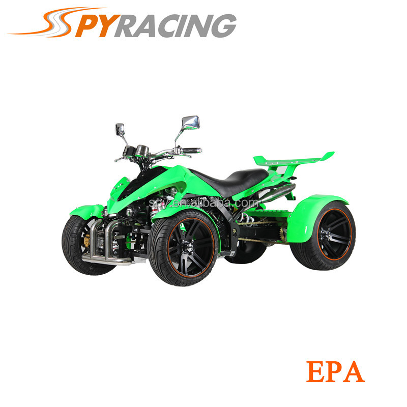 4 Wheels Quad with Rear loncin engine four wheelers with Spoiler