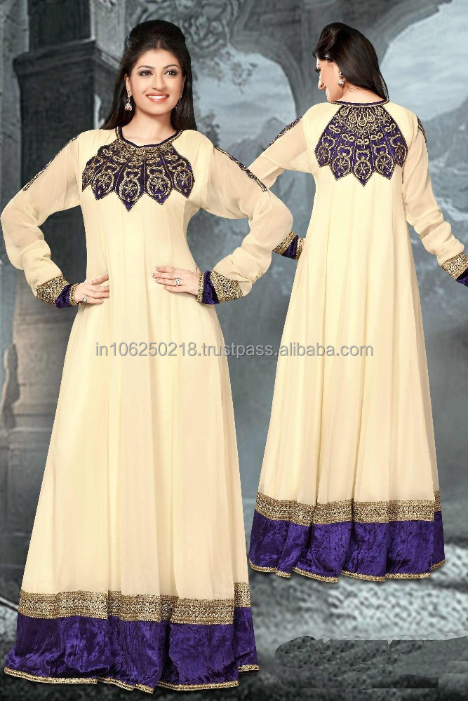 islamic clothing india kaftan arab jalabiya dubai fashion abaya muslim girls long kaftan jalbiya jilbab dress R2490