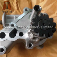 6D31 Excavator oil pump ME084586 for engine parts