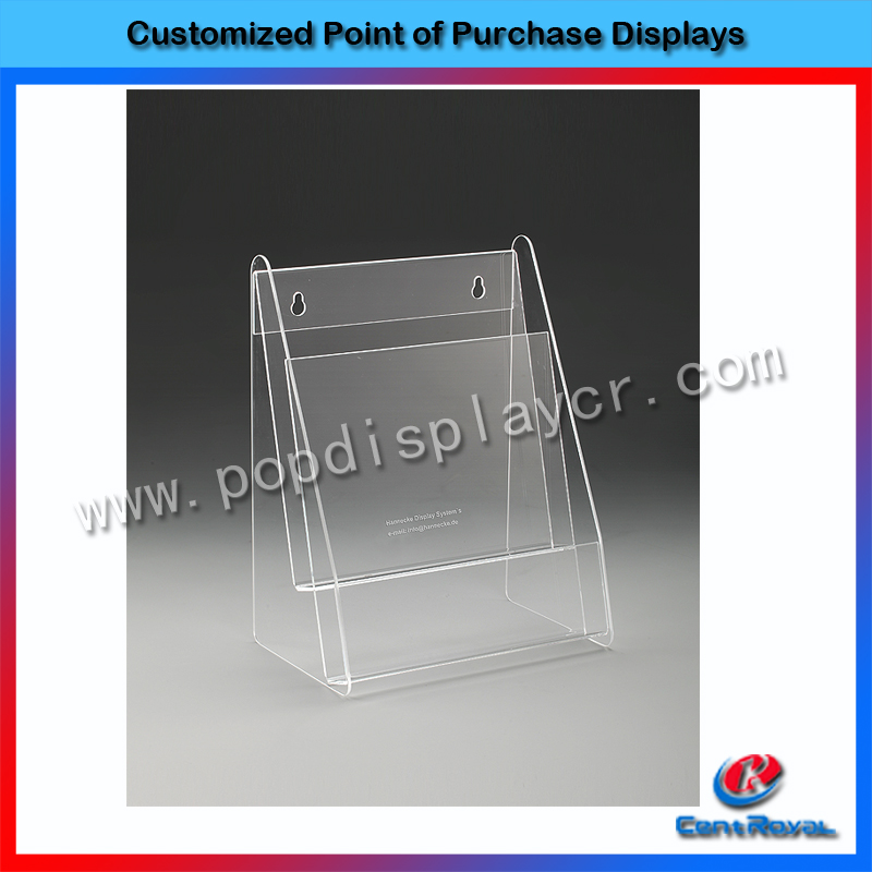 New products China wholesale cheap clean acrylic stand business card holder