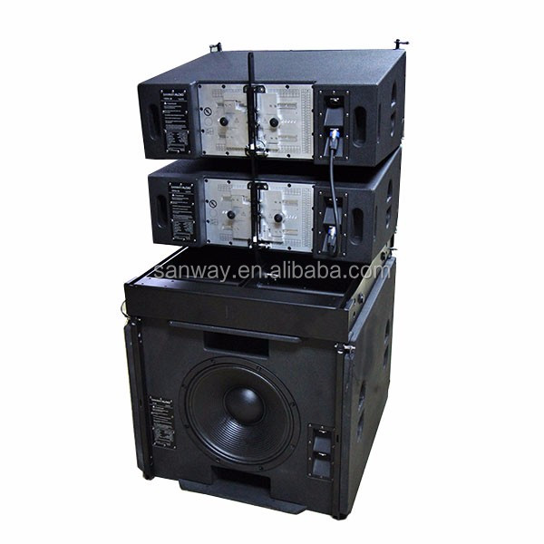 VERA36 + S33 High Power Stage Line Array System