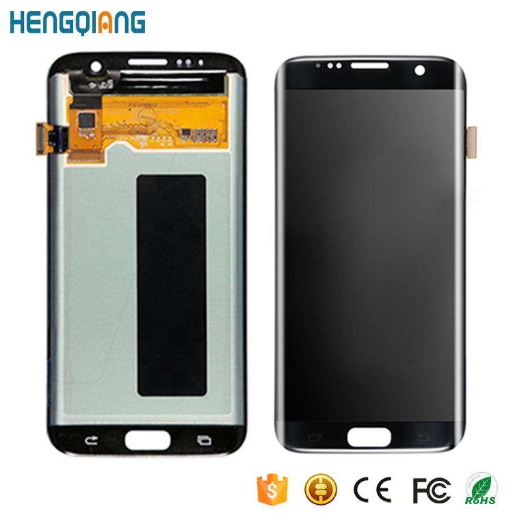Grade AAA LCD Display Assembly For Samsung Galaxy S7 Edge G935 Screen Digitizer Display