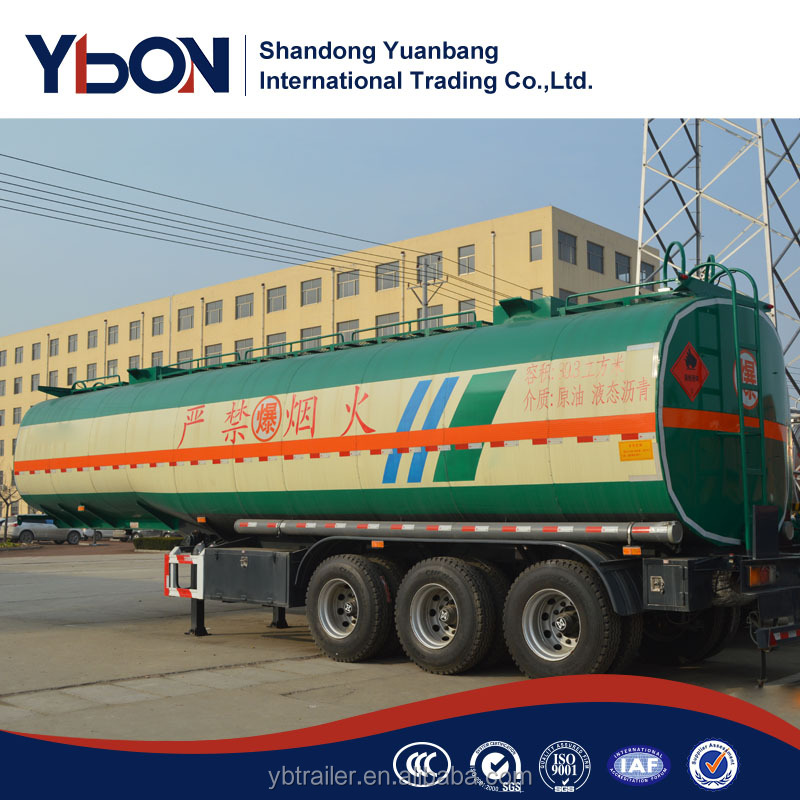 shandong custom multi apartments tri-axle fuel tank semi-trailer for tractor