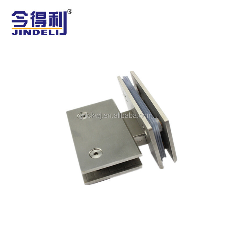 SS Commercial Glass Shower Door Holding Bracket Hinge