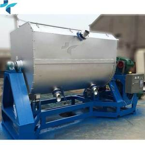 High efficiency ribbon paint coating powder mixer for outside building walls