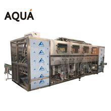 Aqua Machinery 100Bph 5 Gallon Manual Bottle Washing Filling Capping Machine