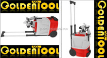 1200w Double Tube Trolley HVLP Floor Based Portable Power Painting Spray Metal Gun Mini Electric Paint Sprayer