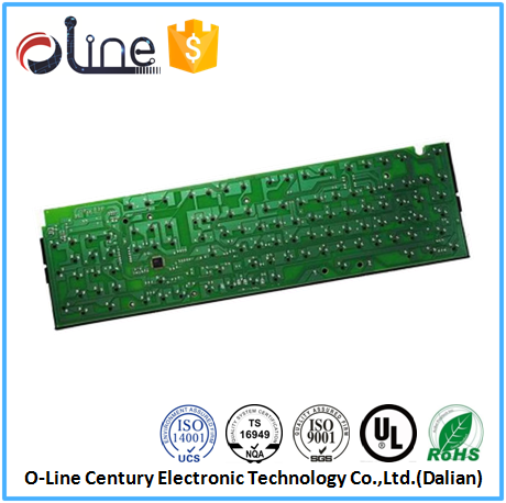 Hot sale double side Lead free FR-1 mechanical keyboard pcb
