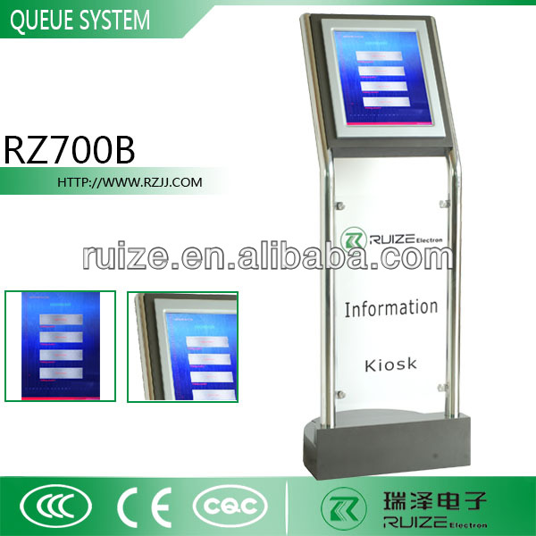 Queue Call Display System Centralized Computerized