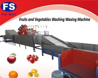FACTORY OUTLET(FUSHI BRAND) FRUIT&VEGETABLE PROCESSING WASHING WAXING AND GRADING LINE
