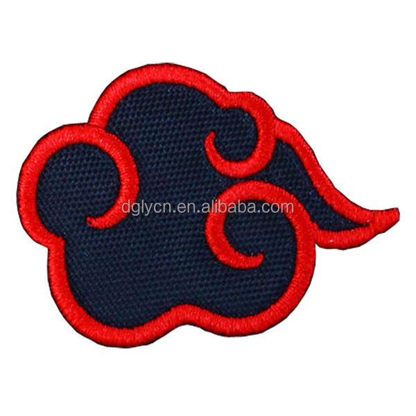 Garment accessories self-adhesive embroidery patch, patches iron on car, iron on patches wholesale