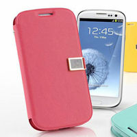 durable wallet flip leather case for Samsung Galaxy S3 i9300 s4 mini case