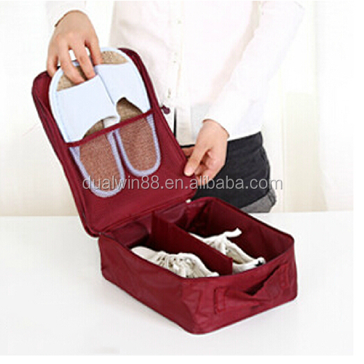 Shoes bag nylon organizer bag travel package organize bags