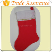 Hot Selling Red Felt Craft Christmas Stocking