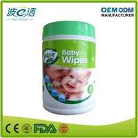 Organic Barrel Packing Baby Wet Wipe