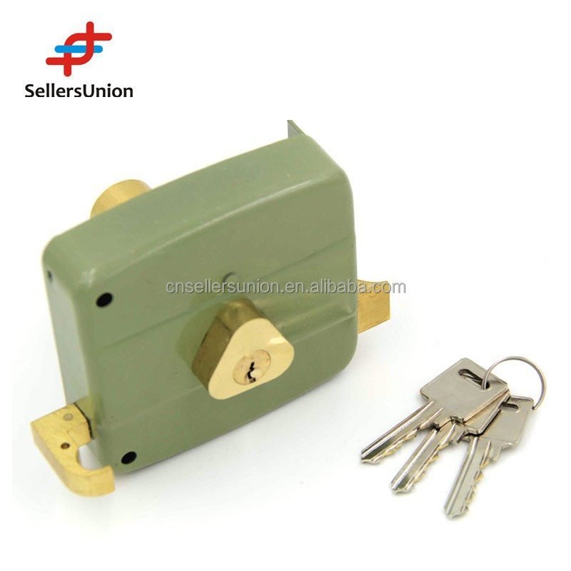 No.1 Yiwu Agent ,1% Commission! 2015 New design and Good quality Secrity Door Lock suitable ,100MM