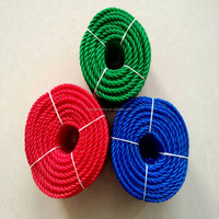 4mm/5mm twisted nylon/pe rope cord for clothes hanging line