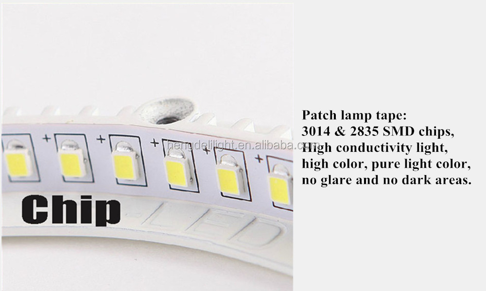 glass led panel lignt with CE ROHS 6w12w15w18w led pane lamp
