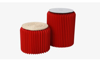 High quality under quality inspection of environmental kraft paper chinese stool