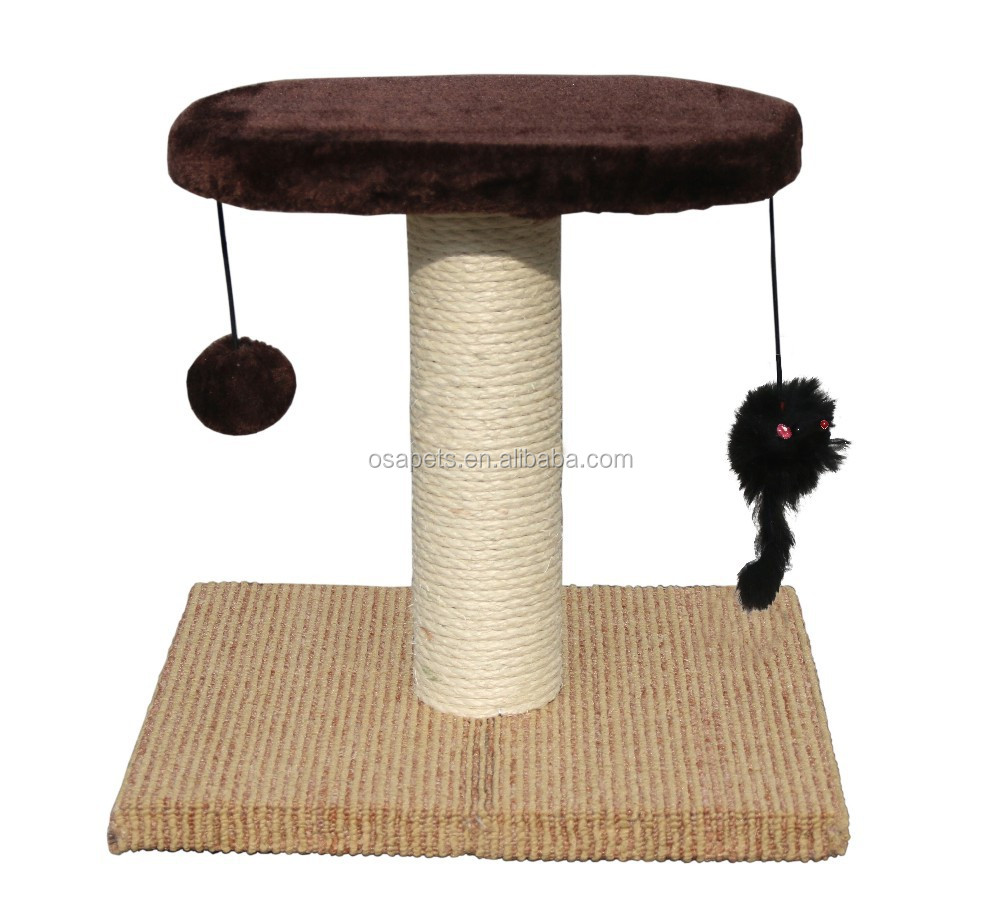 Cat Tree Scratcher Post Furniture Cat Scratcher tree Petstages Fold Away Scratching Tunnel Toy for Cats
