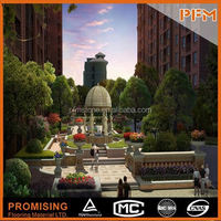 PFM Chinese handmade vivid stone sculpture carving grave stone statue for hotel&villa project design