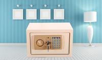 Wholesale Ce steel ceu digital electronic smart security hotel room mini safe deposit box