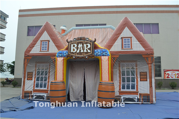 2016 newest inflatable air event tent, inflatable pub bar house