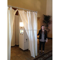 Photo booth enclosure, backdrop curtains for weddings China supplier