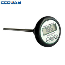 instant read digital food thermometer bbq meat lcd display