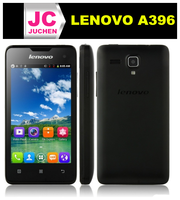 Wholesale Lenovo Celular A396 Lenovo Mobile Phone 4inch 3G WCDMA Phone-Black White Pink in Stock!
