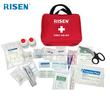 Field hospital car emergency survival kit first aid kit for outdoor with certificate