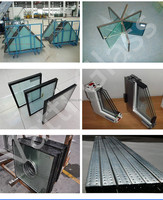 China manufacture decorative tempered laminated insulated glass prices insulated low-e glass
